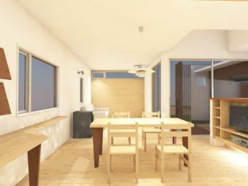 「上郷の家」完成見学会の写真です