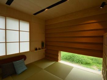 和室の内観の写真です