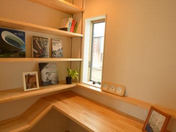 書斎の写真です